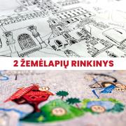 Vilniaus ir Lietuvos žemėlapiai