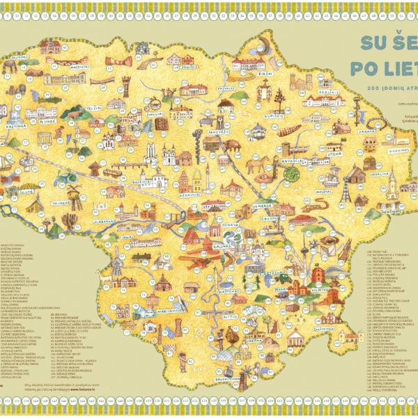 Su šeima – po Lietuvą!